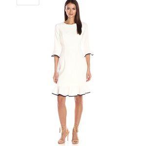 Nanette Lepore Womens Dress Bella Donna White Sz 8